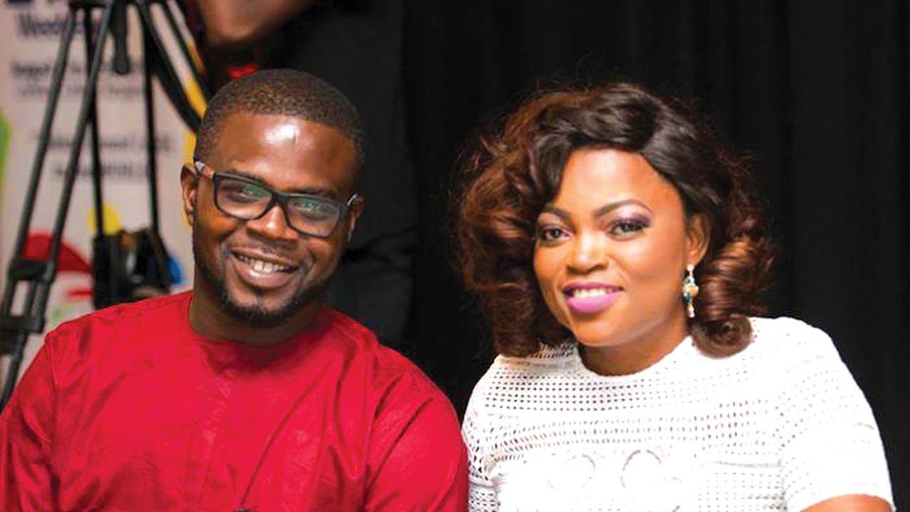 Funke Akindele & Hubby