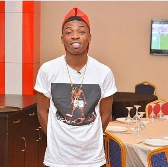 Image result for Mayorkun Sets Up A Barbing Salon For His Uncle In Ilasamaja, Lagos