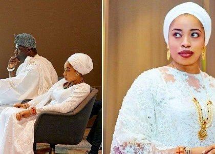 Olori Wuraola congratulates Ooni of Ife and his new wife, prophetess Naomi