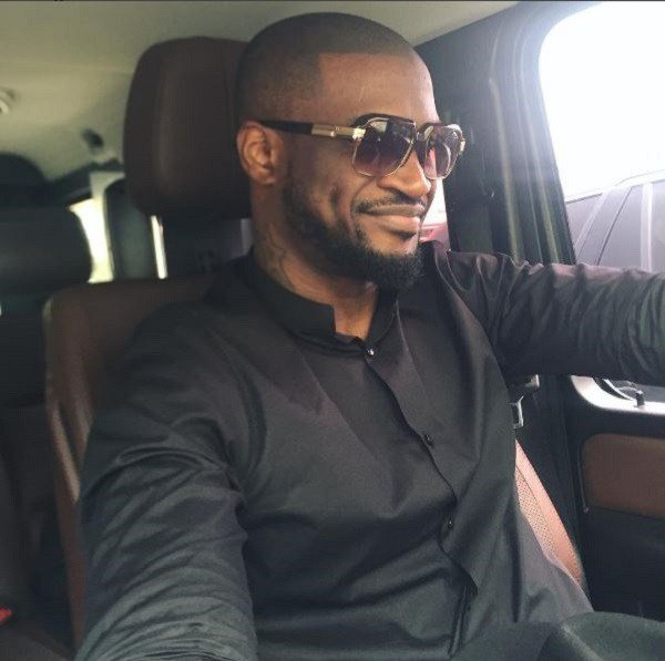 Peter Okoye Celebrates Mother In-Law, Lola Omotayo's Mum