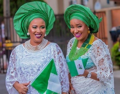 Here's How Your Favourite Celebrities and Other Nigerians Celebrated Nigeria at 57