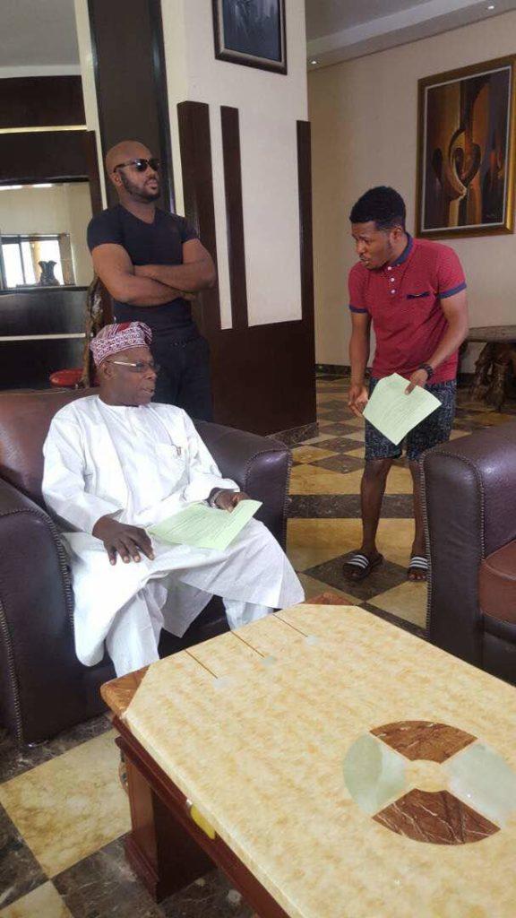 Ex President Olusegun Obasanjo to Star in New Comedy Skit