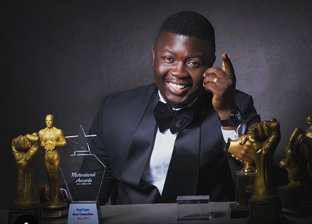 Popular Comedian Seyilaw is determined to run as President