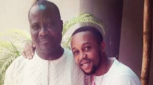 Actor Sunkanmi Omobolanle celebrates father on birthday