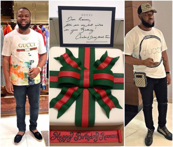 san francisco b8045 4e425 Hushpuppi Gets a Special Birthday Gift from Gucci