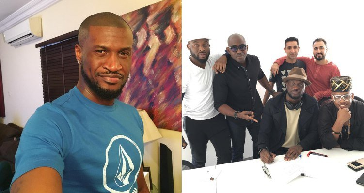 Peter Okoye Signs New Distribution Deal with American Music Label, Empire