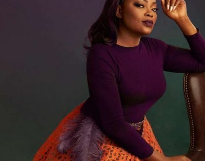 Photos of Actress Funke Akindele on set