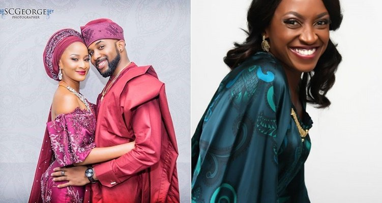 Kate Henshaw Reacts to Banky W's Snapchat Nude Photo Mistake