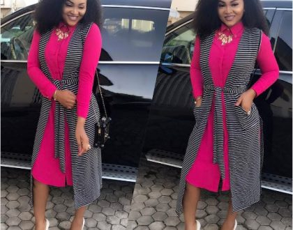 Mercy Aigbe looks smashing in new photo