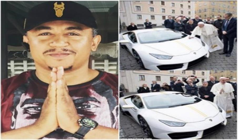 Pope Francis gets a brand new Lamborghini Huracan