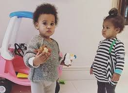 Mikel Obi and his adorable twin daughters sharing lovely moment