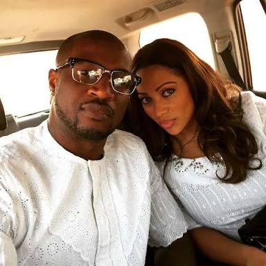 Lola Omotayo Sends Heart Melting Message to Husband, Peter Okoye as they Mark Wedding Anniversary