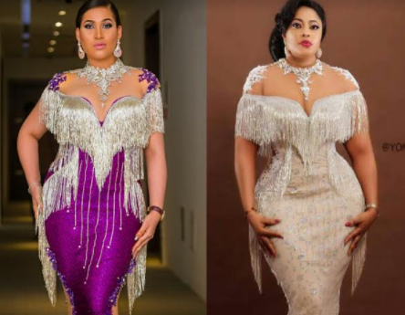 Rock battle between Caroline Danjuma and Biodun Okeowo aka Omobutty.