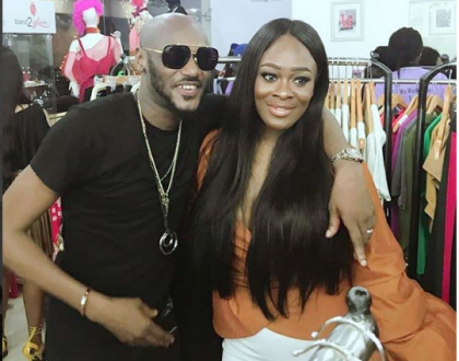 Uriel excited as she meets 2face at an event