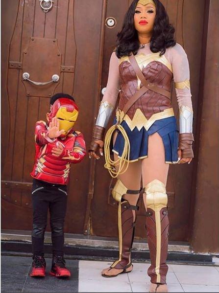 Rock battle: Toyin Lawani or Wonder Woman, Gal Gadot