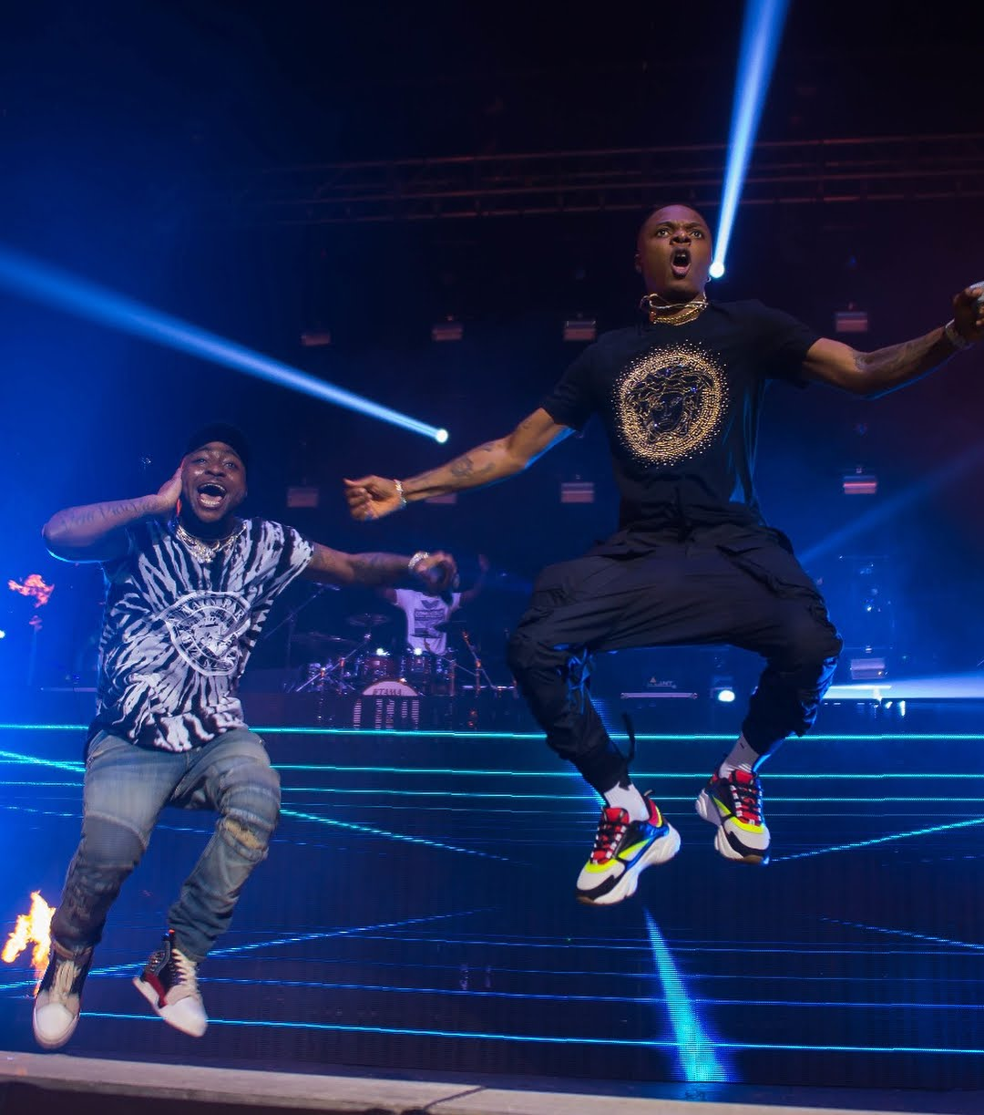 Wizkid Made a Surprise Appearance at Davido's 30 Billion UK Tour Last Night