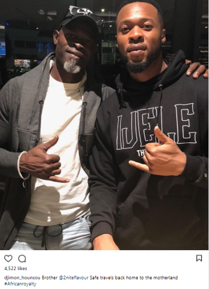 Djimon Hounsou and Flavor
