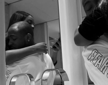 Davido and Chioma all locked up in new photos