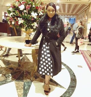 Ex Most Beautiful Girl in Nigeria, Isabella Ayuk at United Nations Youth Assembly