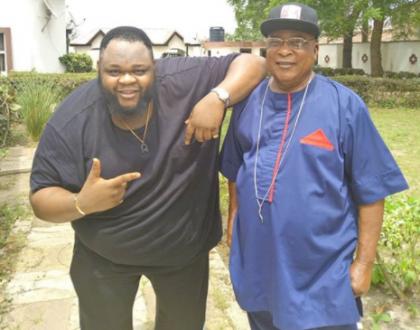Kollington Ayinla and his rapper son Big Sheff