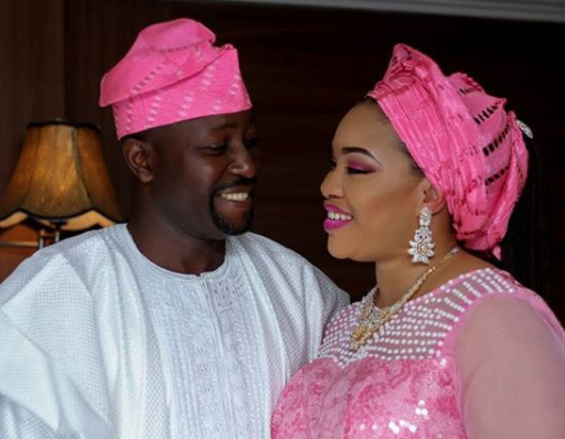 Image result for Nollywood Actress Mosun Filani And Husband Celebrate 8-Year Wedding Anniversary