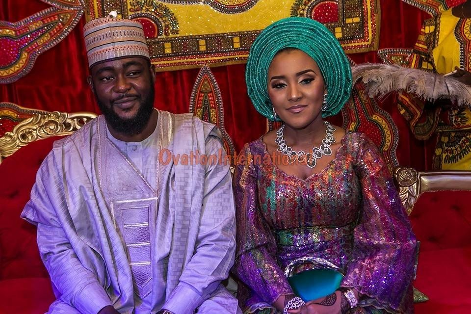 Buhari, Abdulsalami In Kano As Dangote's Daughter Weds