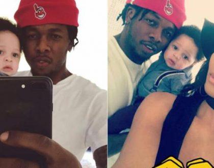 Runtown shares photo of his cute son, Zamar