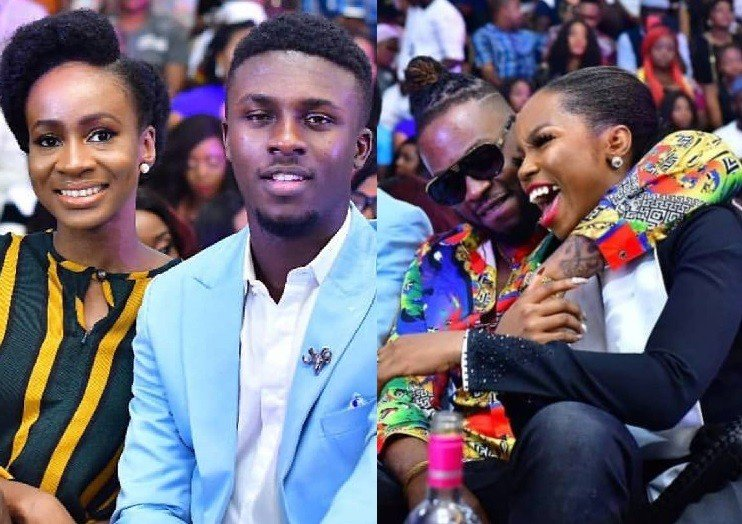 Photos of BBNAIJA 2018 couples; Lolu, Anto, Teddy A and Bambam at the finale