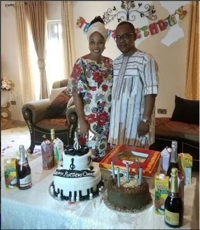 c92d3a869833 Tope Alabi Throws Surprise Birthday Party for Husband (Video)