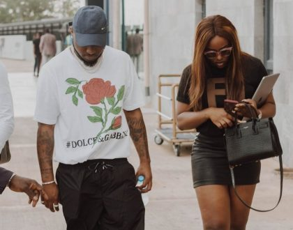 Photo of the Day: Davido and Chioma our celebrity couple