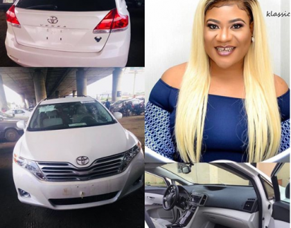 Actress Nkechi Blessing acquires new car