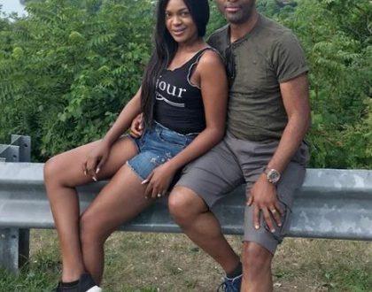Vacation photos of Omoni Oboli and husband