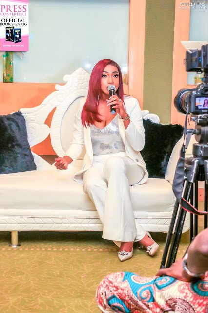 Check out Chika Ike as she stuns to Boss Up book lunch