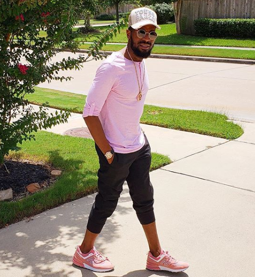 First photo of Dbanj since the loss of his son