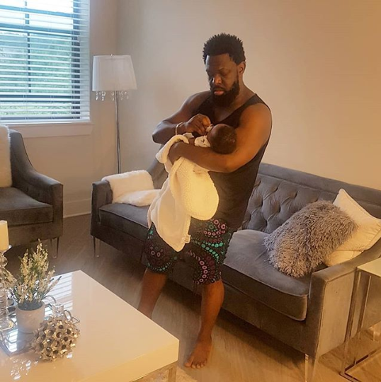 Timaya adds another year, celebrates with his baby boy