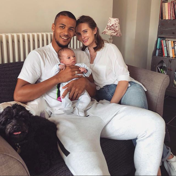Super Eagles star, William Troost-Ekong shares a new family photo