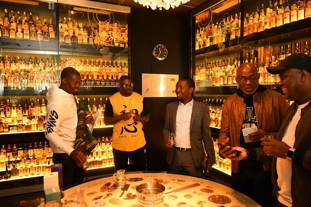 Photos of RMD and Don Jazzy in scotland in quest of perfect Johnnie Walker blend