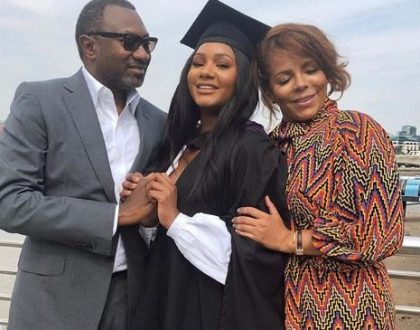 Temi Otedola graduates with a Bachelors degree in History of Art from the University College London