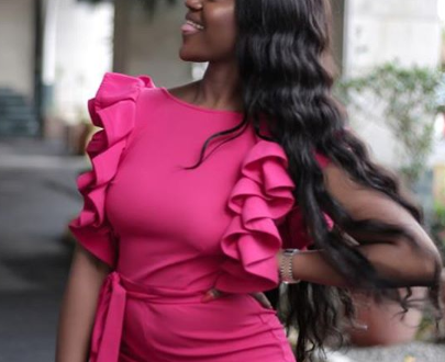 Read Chioma's reply to those that criticized her belly pooch