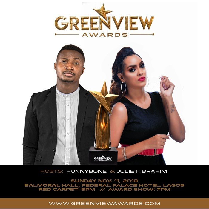 Nominees list for the maiden edition of the GREENVIEW AWARDS