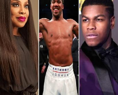 Mo Abudu, Anthony Joshua and John Boyega makes Nigeria proud by making  the UK black power list