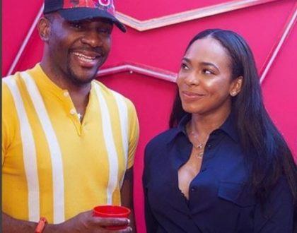 Cute smiles from Tboss and Ebuka Obi-Uchendu in this photo