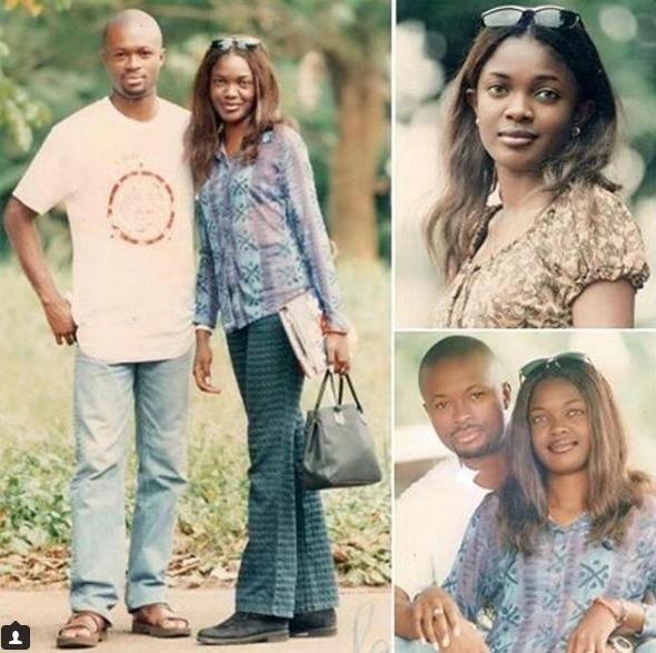 Throwback photos of Omoni Oboli and her husband Nnamdi Oboli
