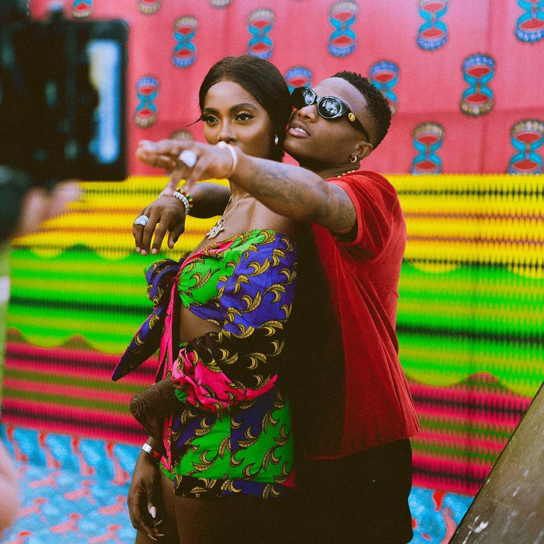 You Beat your Own Record, that's Why I F**k with You- Tiwa
