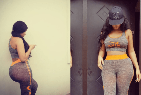 Speed Darlington wants to spend all his money on actress Onyi Alex's butt