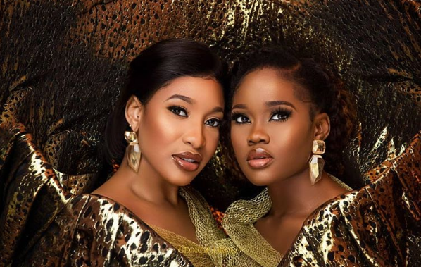Tonto Dikeh and CeeC pair this stunning look