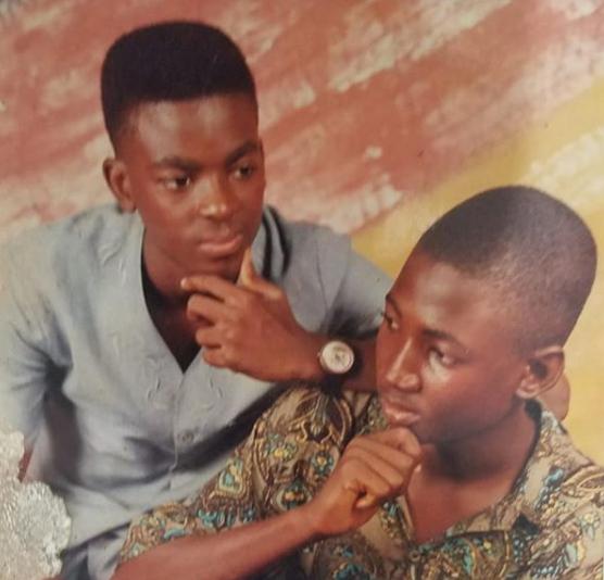 Kunle Afolayan throwback