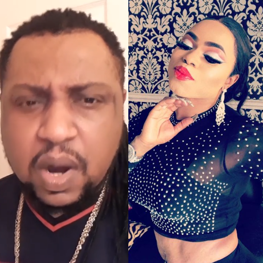 It's a big drama between Bobrisky and the singer, Prince King Hollywood who alleged him of scam