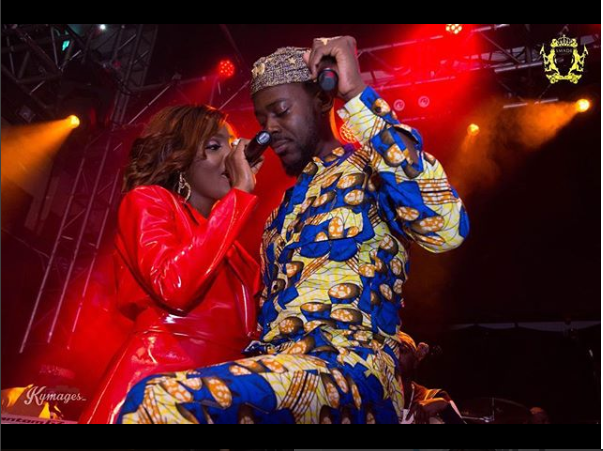 """Thank you, I love you"""" Simi appreciates her Adekunle Gold for his support at her London concert"""