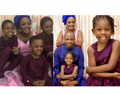 Adorable photos of comedienne Helen Paul and family